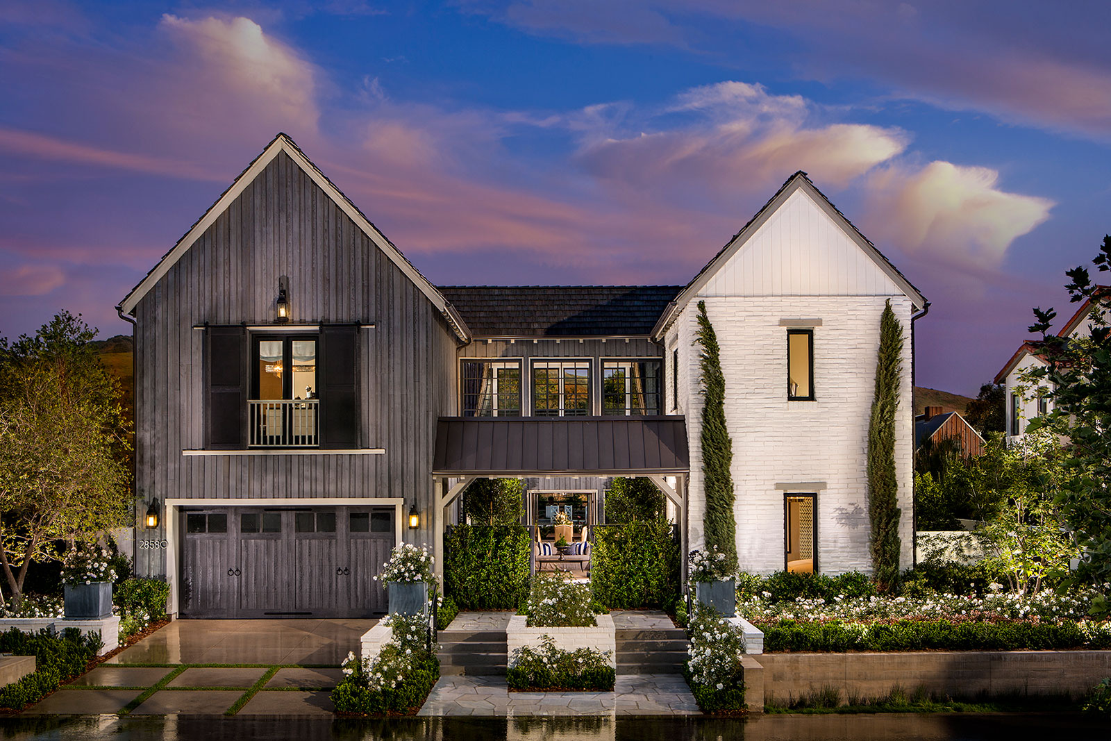 One Story Craftsman Homes